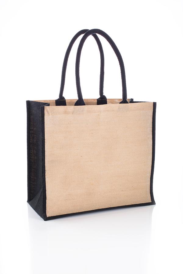 Black Jute Bag