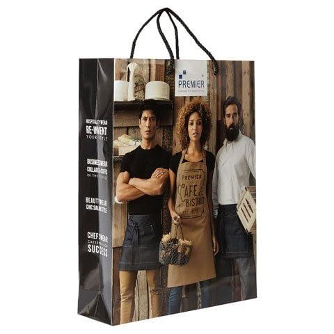 Premier Luxury Laminated Paper Carrier Bag