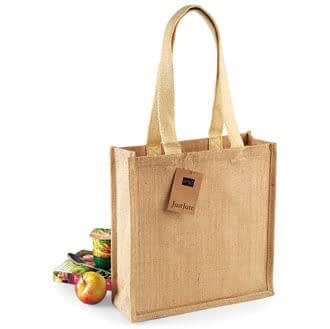 Jute Compact Tote Shopper bag