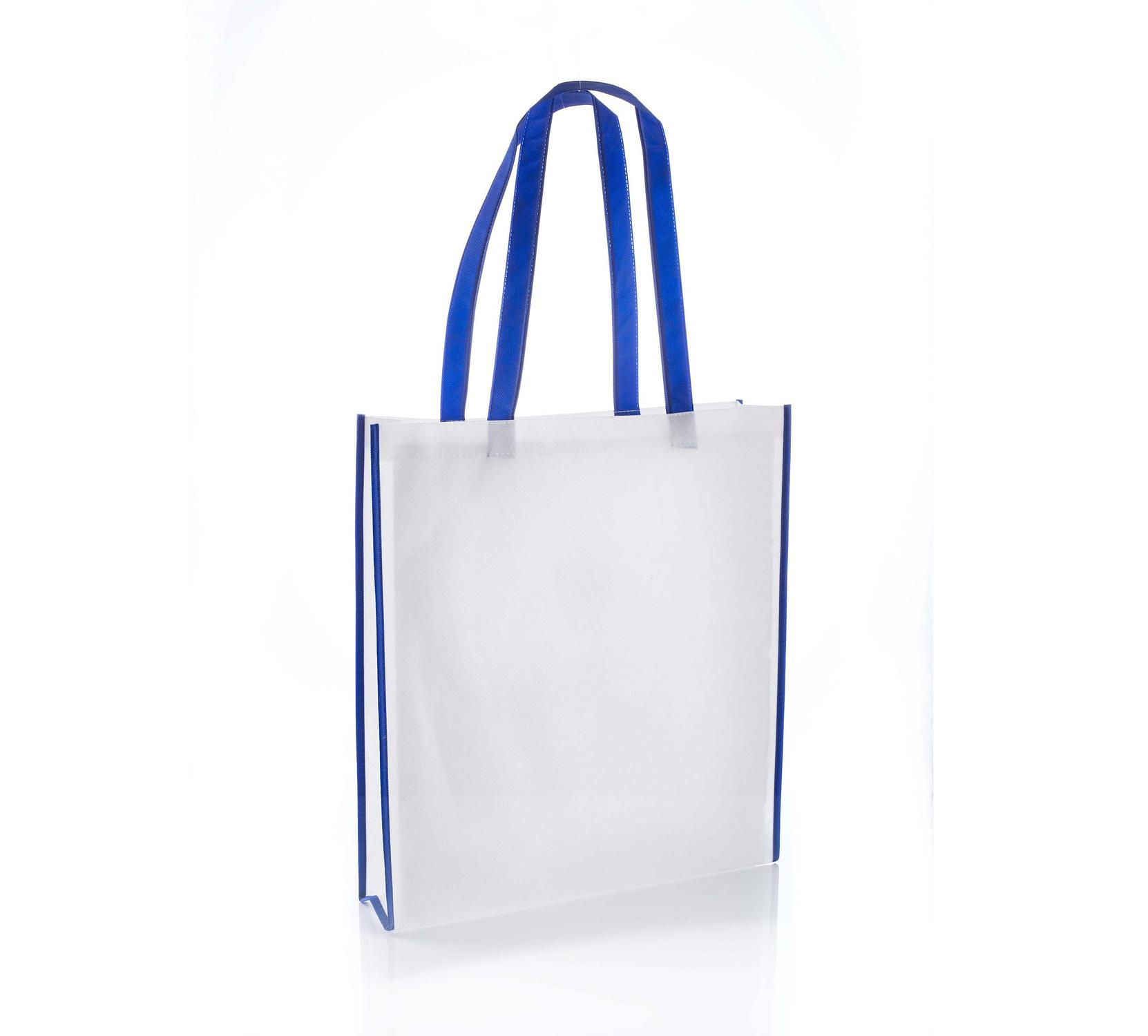 Virginia Blue Non Woven Tote Bag