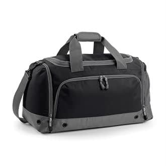 Athleisure Holdall bag in black and grey
