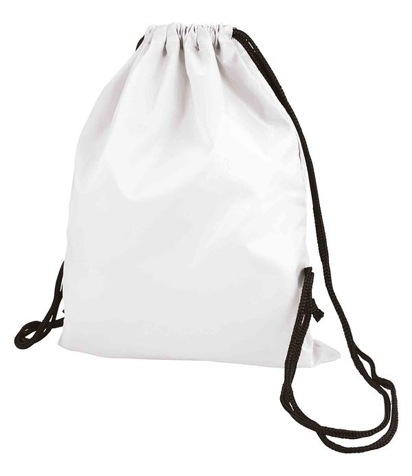 White Taffeta Backpack Sport