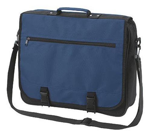 Blue Business Shoulder Bag