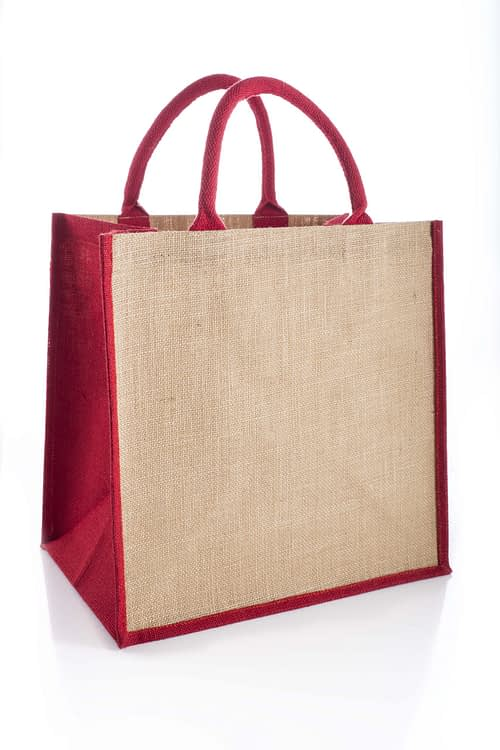 Red Brecon Jute Bag