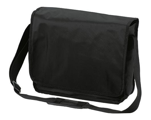 Black KURIER Shoulder Bag