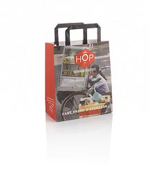 Tape Handle Kraft Bag