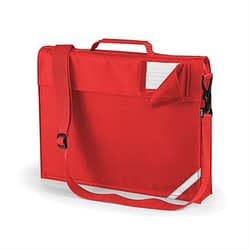 Junior book bag with strap