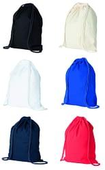 Trident Cotton drawstring bag