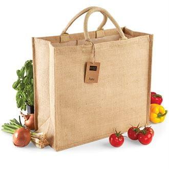 Jute Jumbo Shopper Bag