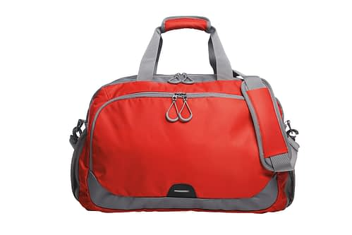 Red and Grey STEP Sports Travel Bag