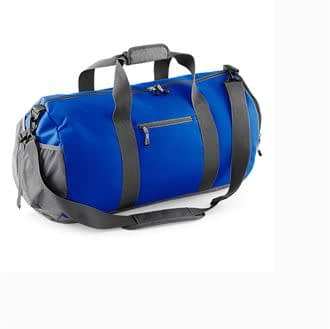 Athleisure Blue and Grey Kit Bag