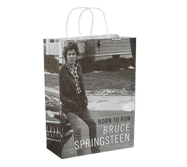 Bruce Springsteen Bespoke Paper Carrier Bag