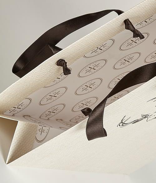 Aura Detailed Inside Laminated Bag