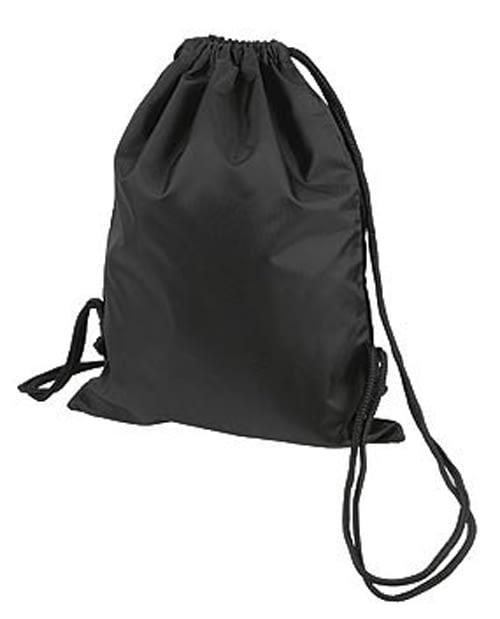 Black Taffeta Backpack Sport