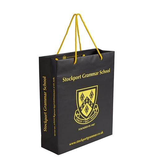 Stockport Grammar School Paper Bag
