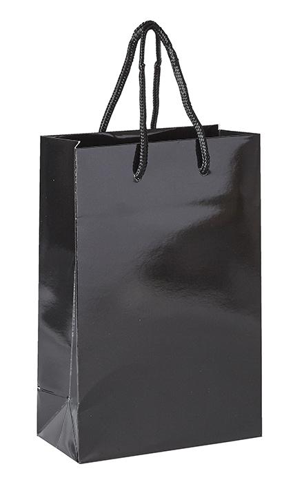 Plain Black Luxury Paper Bag