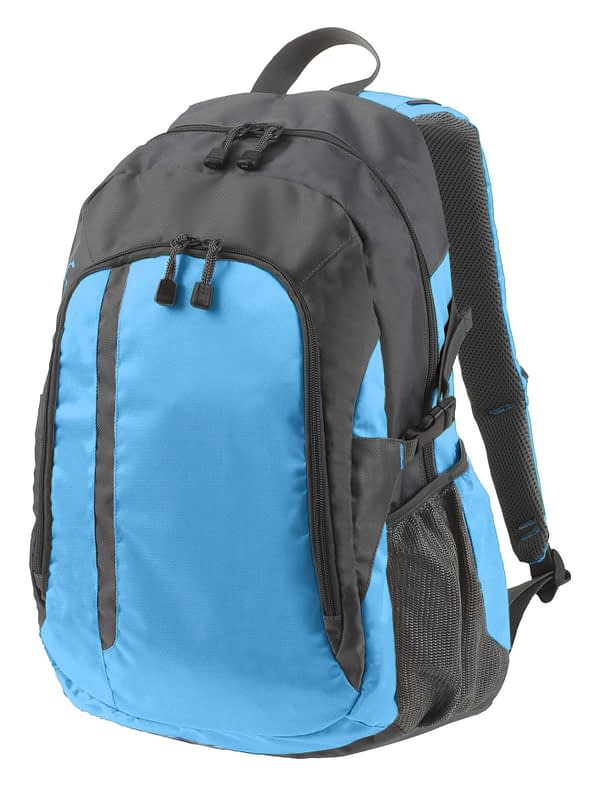 Galaxy Backpack in Blue and Grey