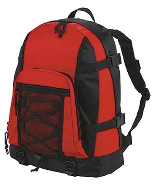 Red Sport Backpack