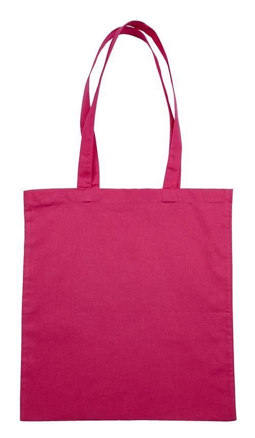 Pink Jute Canvas Cotton Shopper Bag