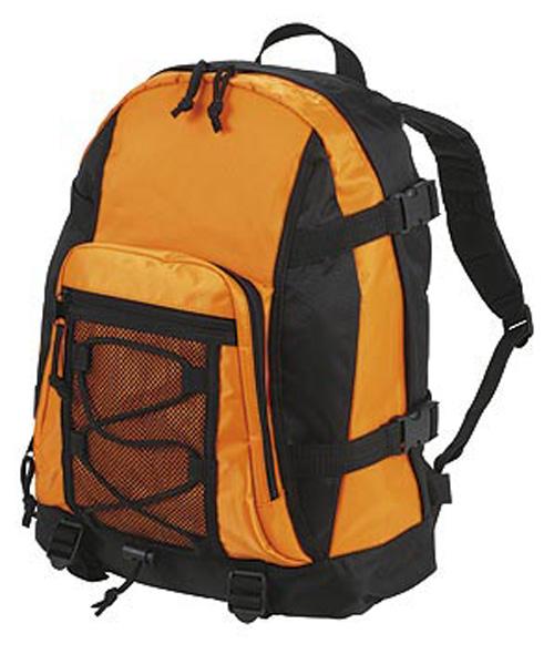 Orange Sport Backpack
