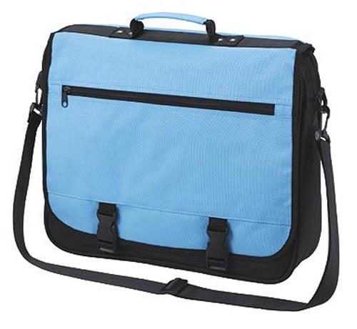 Blue Shoulder Bag Business