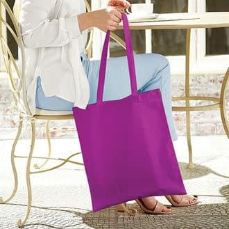 Purple Bag for Life with Long Handles