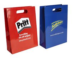 Image of Luxury Paper Bag with die cut handles