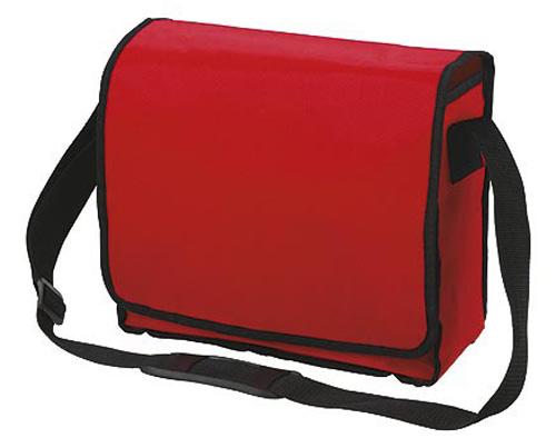 Red KURIER Shoulder Bag