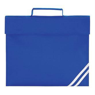 Blue classic book bag