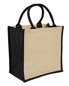 Black Amazon Juco Bag