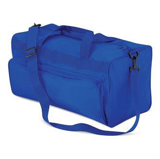 Blue Advertising Holdall Bag