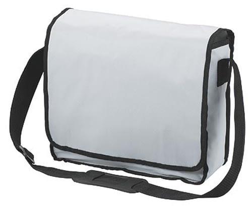White KURIER Shoulder Bag