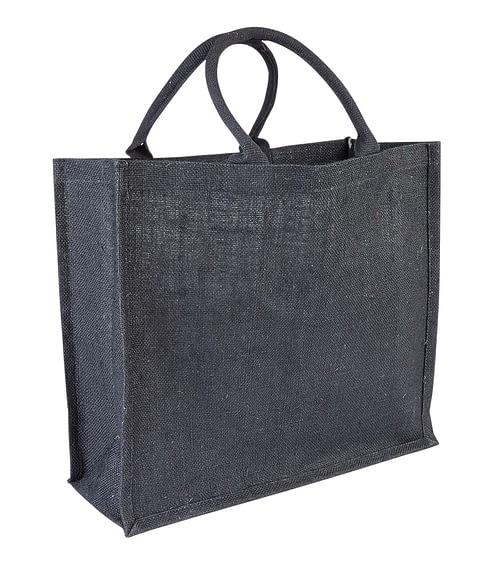 Barham 45 Black Jute Bag