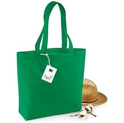 Organic cotton shopper