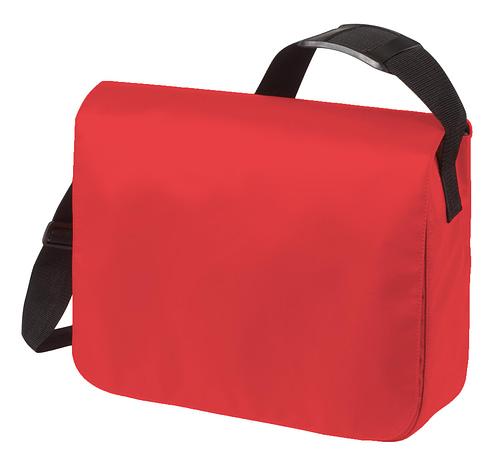 Shoulder Bag in Red